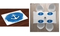 Ambesonne Anchor Place Mats, Set of 4