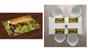 Ambesonne Winery Place Mats, Set of 4