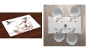 Ambesonne Birds Place Mats, Set of 4