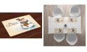 Ambesonne Snowman Place Mats, Set of 4