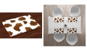 Ambesonne Cow Print Place Mats, Set of 4