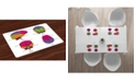 Ambesonne Educational Place Mats, Set of 4