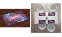 Ambesonne Trippy Place Mats, Set of 4