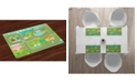 Ambesonne Nursery Activity Place Mats, Set of 4