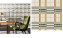 Tempaper Novogratz for Paired Back Plaid Self-Adhesive Wallpaper