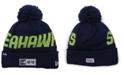 New Era Seattle Seahawks Road Sport Knit Hat