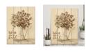 "Courtside Market Bless Our Nest Cotton Bouquet 16"" x 20"" Wood Pallet Wall Art"