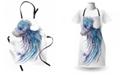 Ambesonne Jellyfish Apron