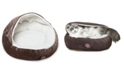 """Majestic Pet 18"""" Suede Canopy Dog Bed"""