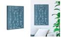 "Oliver Gal Nautical Knots Canvas Art, 10"" x 15"""