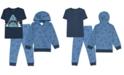 Jem Toddler Boys 3-Pc. Shark Hoodie, T-Shirt & Joggers Set