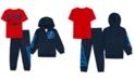 Marvel Little Boys 3-Pc. Avengers Hoodie, T-Shirt & Joggers Set