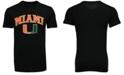 Retro Brand Men's Miami Hurricanes Midsize T-Shirt
