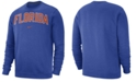 Nike Men's Florida Gators Club Fleece Crewneck Sweatshirt