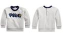 Polo Ralph Lauren Baby Boy Ski Bear Fleece Sweatshirt