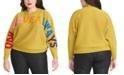 RACHEL Rachel Roy Trendy Plus Size Rainbeau Sweater