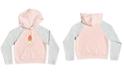 Roxy Big Girls Colorblocked Fleece Logo Hoodie