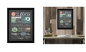 """Trendy Decor 4U Reminders from Dad By Tonya Crawford, Printed Wall Art, Ready to hang, Black Frame, 14"""" x 18"""""""