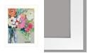 "Trendy Decor 4U Trendy Decor 4U From Mrs. Hazel's Garden by Kait Roberts, Ready to hang Framed Print, White Frame, 15"" x 19"""