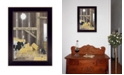 """Trendy Decor 4U Uncle Sammys Barn by Billy Jacobs, Ready to hang Framed Print, Black Frame, 14"""" x 18"""""""