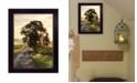 "Trendy Decor 4U Don't Look Back by Lori Deiter by Lori Deiter, Ready to hang Framed Print, Black Frame, 14"" x 18"""