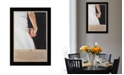 "Trendy Decor 4U I Do By Bonnie Mohr, Printed Wall Art, Ready to hang, Black Frame, 20"" x 14"""