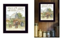 """Trendy Decor 4U Center of My World by Cindy Jacobs, Ready to hang Framed Print, Black Frame, 14"""" x 18"""""""