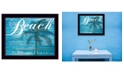 Trendy Decor 4U Trendy Decor 4U Beach - Take Me There By Cindy Jacobs, Printed Wall Art, Ready to hang Collection