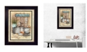"""Trendy Decor 4U Trendy Decor 4U Another Day in Paradise By Mary June, Printed Wall Art, Ready to hang, Black Frame, 14"""" x 20"""""""