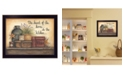"""Trendy Decor 4U Heart of the Home By Mary June, Printed Wall Art, Ready to hang, Black Frame, 18"""" x 14"""""""