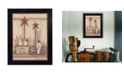 """Trendy Decor 4U Country Kitchen By Mary June, Printed Wall Art, Ready to hang, Black Frame, 13"""" x 18"""""""