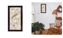 "Trendy Decor 4U Play It By Marla Rae, Printed Wall Art, Ready to hang, Black Frame, 11"" x 20"""