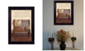 """Trendy Decor 4U Friends Become Family By SUSAn Boyer, Printed Wall Art, Ready to hang, Black Frame, 14"""" x 10"""""""