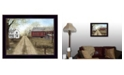 """Trendy Decor 4U Warm Spring Day By Billy Jacobs, Printed Wall Art, Ready to hang, Black Frame, 18"""" x 14"""""""