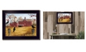 """Trendy Decor 4U Autumn Gold By Billy Jacobs, Printed Wall Art, Ready to hang, Black Frame, 20"""" x 26"""""""