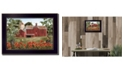 """Trendy Decor 4U Summer Days By Billy Jacobs, Printed Wall Art, Ready to hang, Black Frame, 14"""" x 10"""""""