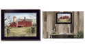 """Trendy Decor 4U Harbingers of Spring By Billy Jacobs, Printed Wall Art, Ready to hang, Black Frame, 28"""" x 22"""""""