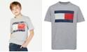 Tommy Hilfiger Tommy Flag Graphic-Print T-Shirt, Big Boys