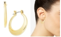 """Charter Club Gold-Tone Small Round Hoop Earrings, 1"""", Created for Macy's"""