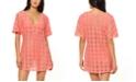 Jessica Simpson O-Ring Crochet Swim Cover-Up Dress