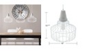 Southern Enterprises Robin Cage Pendant Lamp 3 Piece Set