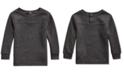 Polo Ralph Lauren Baby Boys Waffle-Knit Cotton-Blend T-Shirt