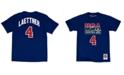 Mitchell & Ness Men's Christian Laettner Team USA Player T-Shirt