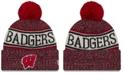 New Era Wisconsin Badgers Sport Knit Hat