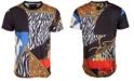 Reason Men's Cross-Cut Graphic T-Shirt