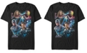 Marvel Men's Avengers Endgame Dream Team Portraits, Short Sleeve T-shirt