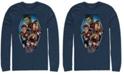 Marvel Men's Avengers Endgame Geometric Group, Long Sleeve T-shirt