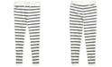 Polo Ralph Lauren Toddler Girls Striped Cotton-Blend-Terry Pants