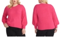 RACHEL Rachel Roy Trendy Plus Size Felicity Sweater