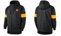 Nike Men's Pittsburgh Steelers Sideline Full-Zip Therma Hoodie